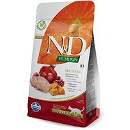 N&D grain free pumpkin cat neutred quail & pomegranate 1,5 kg - Granule pro kočky