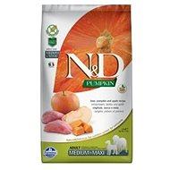 N&D grain free pumpkin dog adult M/L boar & apple 2,5 kg - Granule pro psy
