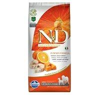 N&D grain free pumpkin dog adult M/L codfish & orange 12 kg - Granule pro psy