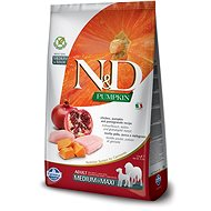 N&D grain free pumpkin dog adult M/L chicken &  pomegranate 12 kg - Granule pro psy