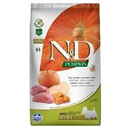 N&D grain free pumpkin dog adult mini boar & apple 7 kg - Granule pro psy