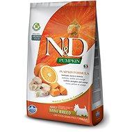N&D OCEAN grain free dog adult mini codfish & pumpkin & orange 2,5 kg - Granule pro psy