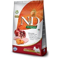 N&D grain free pumpkin dog adult mini chicken & pomegranate 7 kg - Granule pro psy