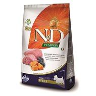 N&D PUMPKIN grain free dog adult mini lamb & blueberry 2,5 kg - Granule pro psy