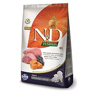 N&D grain free pumpkin dog puppy M/L lamb & blueberry 2,5 kg - Granule pro štěňata