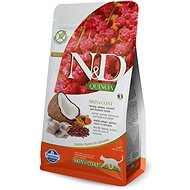 N&D grain free quinoa cat skin & coat herring & coconut 1,5 kg - Granule pro kočky