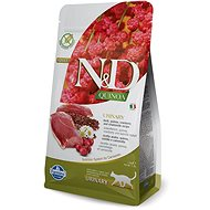 N&D grain free quinoa cat urinary duck & cranberry 1,5 kg - Granule pro kočky