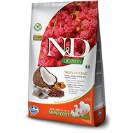 N&D grain free quinoa dog skin & coat herring & coconut 2,5 kg - Granule pro psy