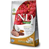 N&D grain free quinoa dog skin & coat quail & coconut 2,5 kg - Granule pro psy