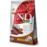 N&D grain free quinoa dog skin & coat venison & coconut 2,5g - Granule pro psy