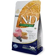 N&D low grain cat adult lamb & blueberry 5 kg - Granule pro kočky