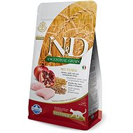 N&D low grain cat neutered chicken & pomegranate 1,5 kg - Granule pro kočky