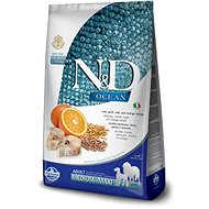 N&D low grain dog adult codfish & orange 12 kg - Granule pro psy