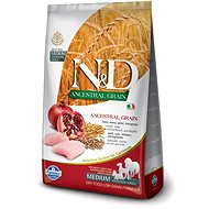 N&D low grain dog adult chicken & pomegranate 2,5 kg - Granule pro psy