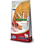 N&D low grain dog adult M/L chicken & pomegranate 12 kg - Granule pro psy