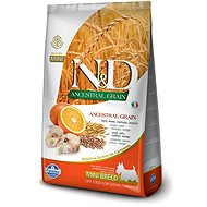 N&D low grain DOG Adult Mini Codfish & Orange 2,5 kg - Granule pro psy