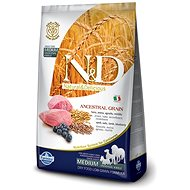 N&D low grain DOG Adult Mini Lamb & Blueberry 2,5 kg - Granule pro psy