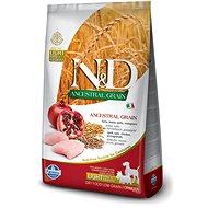 N&D low grain DOG Light M/L Chicken&Pomegranate 12 kg - Granule pro psy