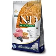 N&D low grain DOG Puppy M/L Lamb & Blueberry 12 kg - Granule pro štěňata