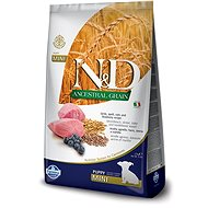 N&D low grain DOG Puppy Mini Lamb & Blueberry 7 kg - Granule pro štěňata