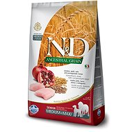 N&D low grain DOG Senior M/L Chicken&Pomegr 12 kg - Granule pro psy