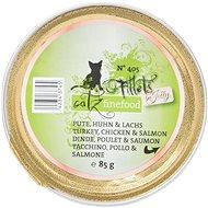 Catz finefood Fillets - krůtí, kuřecí a losos 85 g - Kapsička pro kočky