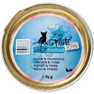 Catz finefood Fillets - kuřecí maso a tuňák 85 g - Kapsička pro kočky