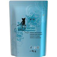Catz finefood se sleďem a krevetami 85 g - Kapsička pro kočky
