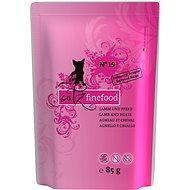 Catz finefood - s jehněčím a koňským m. 85 g - Kapsička pro kočky