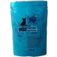 Catz finefood - se zvěřinou a okouníkem 85 g - Kapsička pro kočky