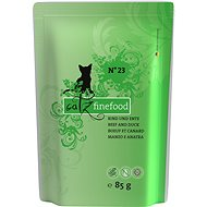 Catz finefood - with beef and duck 85 g - Cat Food Pouch