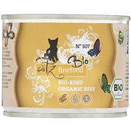 Catz finefood Bio - s hovězím masem 200 g - Konzerva pro kočky