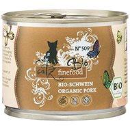 Catz finefood Bio- s vepřovým masem 200 g - Konzerva pro kočky