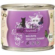 Catz finefood Bio - s krůtím masem 200 g - Konzerva pro kočky