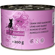 Catz finefood - with lamb and rabbit 200g - Cat food