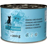 Catz finefood - with herring and shrimps 200g - Cat food