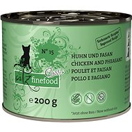 Catz finefood - with chicken and pheasant m. 200g - Cat food