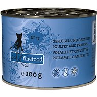 Catz finefood - with poultry and shrimps 200g - Cat food