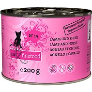 Catz finefood - with lamb and horse 200g - Cat food