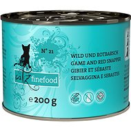 Catz finefood - with game and redfish 200g - Cat food