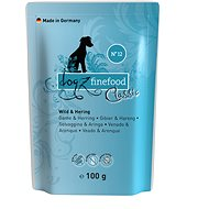 Dogz finefood - with game and herring 100 g - Dog pocket