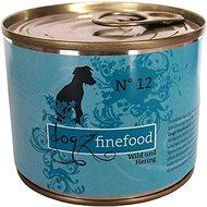 Dogz finefood - se zvěřinou a sledím masem 200 g - Konzerva pro psy