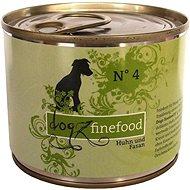 Dogz finefood - s kuřecím a bažantím masem 200 g - Konzerva pro psy