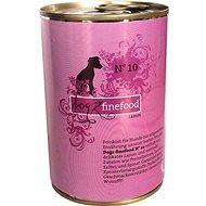 Dogz finefood - s jehněčím masem 400 g