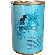Dogz finefood se zvěřinou a sledím masem 400 g - Konzerva pro psy