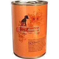 Dogz finefood  - s krůtím a kozím masem 400 g - Konzerva pro psy