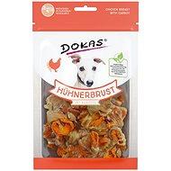 Dokas - Kuřecí prsa s mrkví 70 g