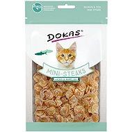 Dokas - Losos a treska mini steaky pro kočky 40 g - Pamlsky pro kočky