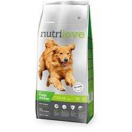 Nutrilove MATURE 7+ fresh chicken 12 kg - Granule pro psy