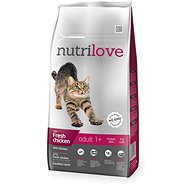 Nutrilove ADULT fresh chicken 8 kg - Granule pro kočky